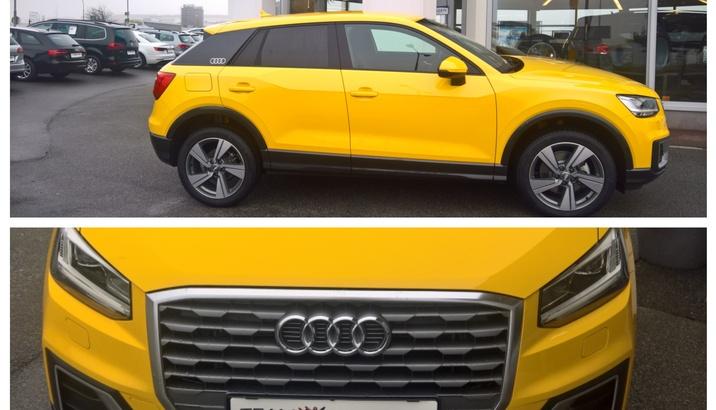 Der neue Audi Q2 bei uns im Schauraum