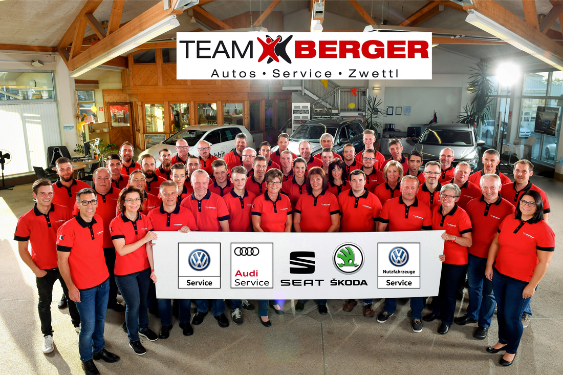 Team Berger gesamt