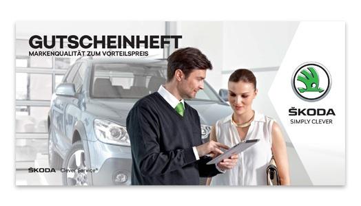 Clever Service Gutscheinheft